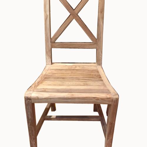 CR017 , Rustic Chair Reclaimed Teak Wood