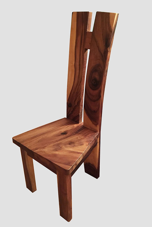 CR003 , H Chair , Suar Wood or Monkey Pod