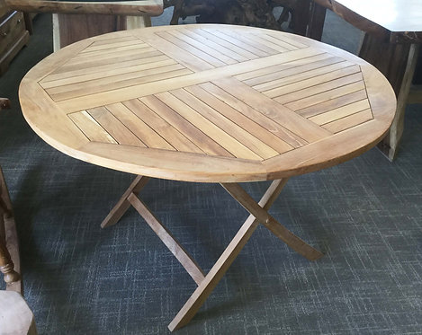 GT002 , Round Dining Table Teak Wood