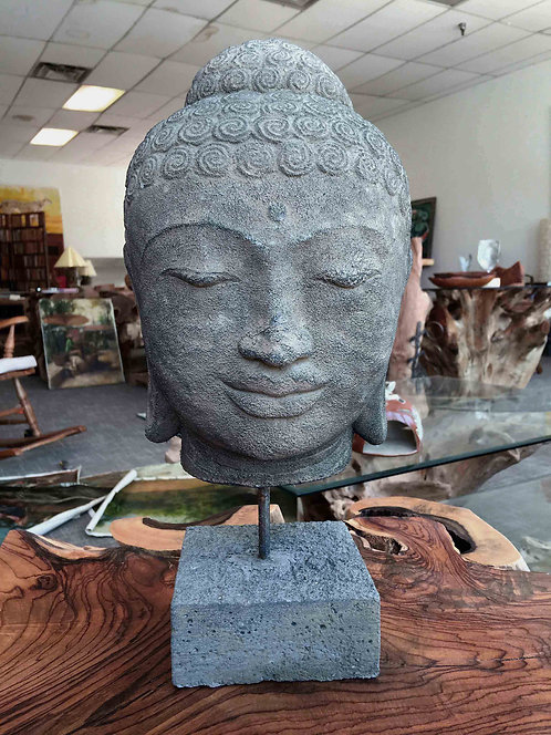 BDH002, Budha Head , Tample stone.