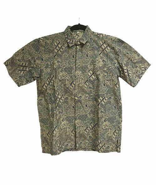 BTS001, Batik Shirt Casual/Formal
