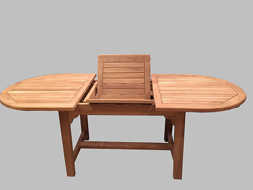 GT001, Extentions Dining Table Teak Wood  Grade A