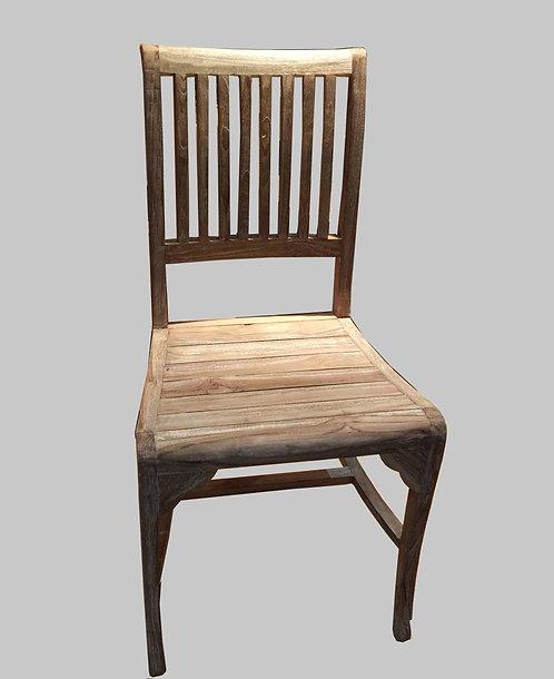 CR012 , Rustic Chair Reclaimed Teak Wood