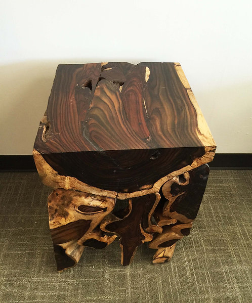 ET022 , End Table , Rosewood / Sono Wood