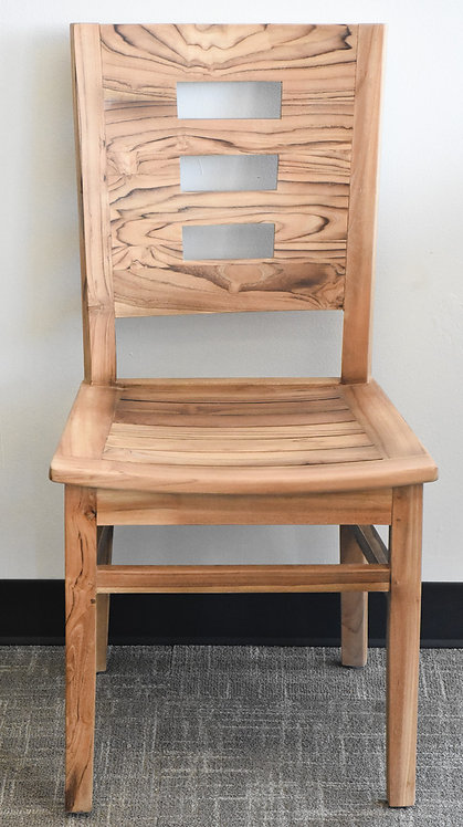 Square Chairs Teak Wood