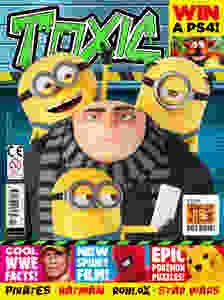 Toxic magazine cover issue 291