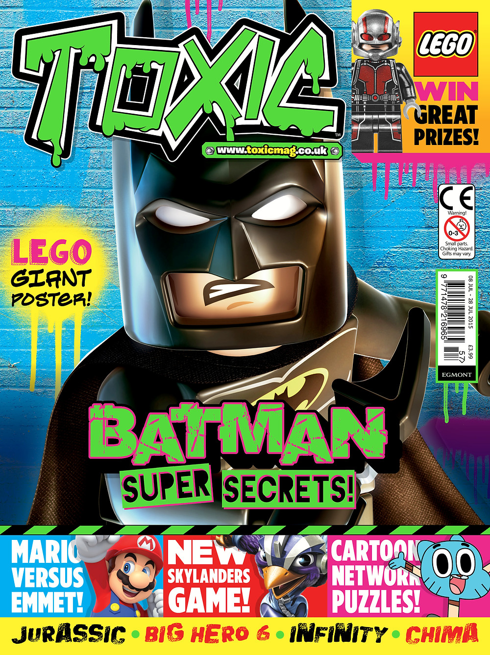 Toxic Magazine Issue 257