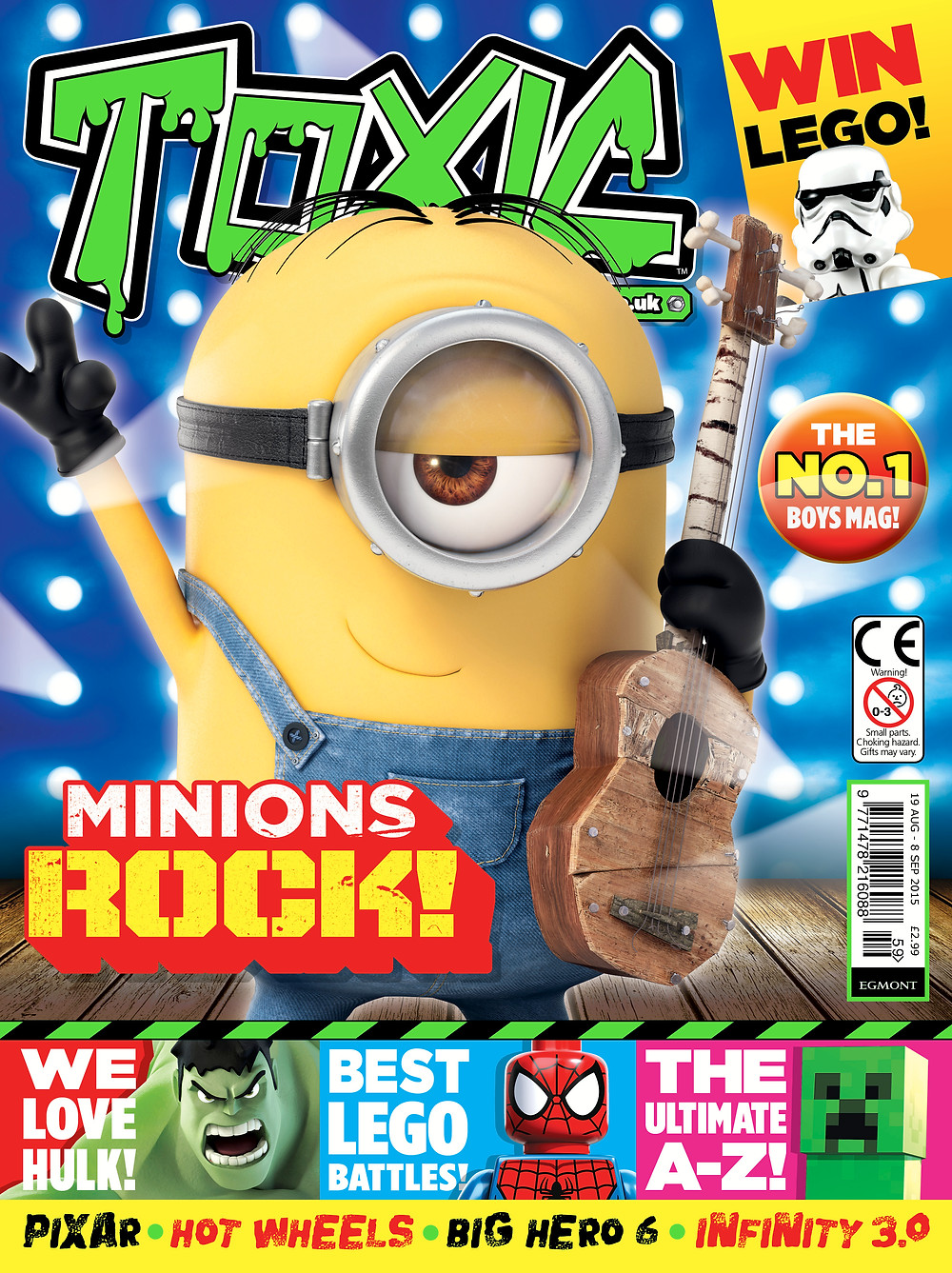 Toxic magazine cover issue 259