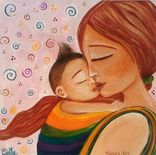 © sist'as art - mother & child