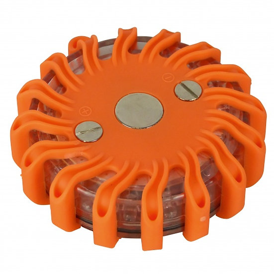 veiligheidslicht 11 cm oranje