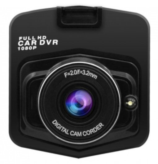 dashcam - HD Ready 1280 x 720 pixels G-Sensor zwart