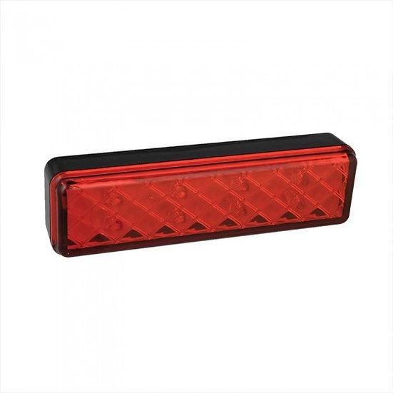 achterlicht 12/24V 2 functies 13,5 x 3,8 cm led in blister
