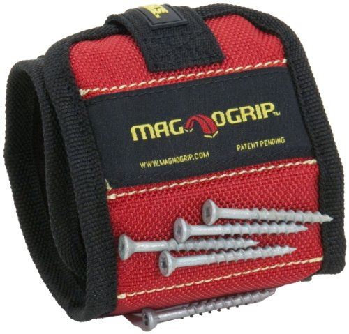 magnetische polsband polyester 30 cm rood