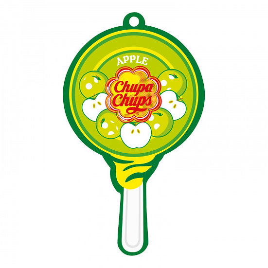 luchtverfrisser Airfresh Lolly Paper Apple
