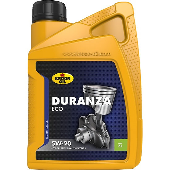 motorolie synthetisch Duranza Eco 5W-20 1 liter (35172)