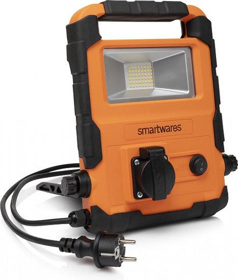 opvouwbare werklamp FCL-76008 led 20 Watt zwart/oranje