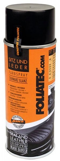 Seat & Leather Color Spray 400 ml zwart (glans)