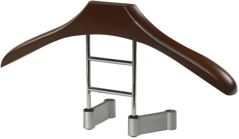 kledinghanger hout 45 cm donkerbruin