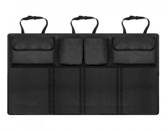 organiser autostoel dubbel 90 x 34 cm zwart