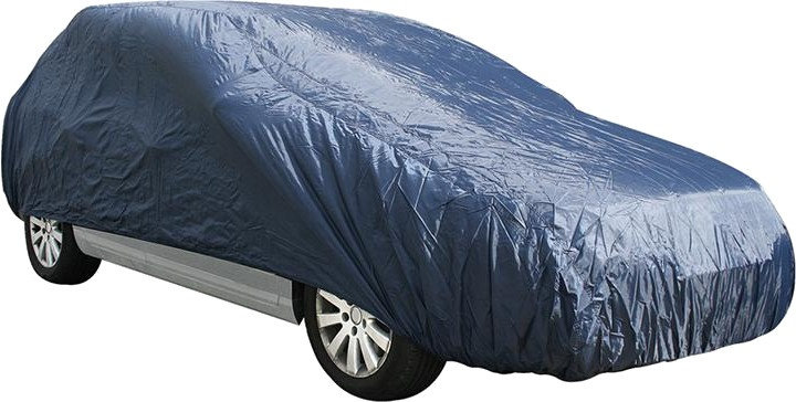 autohoes XL Station 485 x 151 x 119 cm polyester blauw