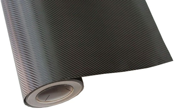 wrappingfolie Carbon 3D 200 x 152 cm zwart