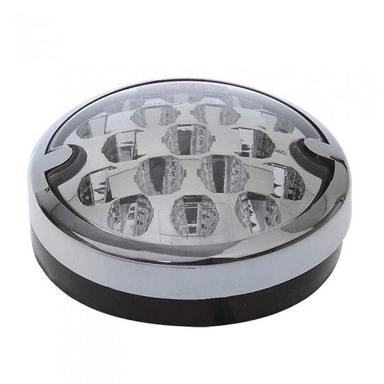 achterlicht 10/30V 3 functies 95 mm led chroom in blister