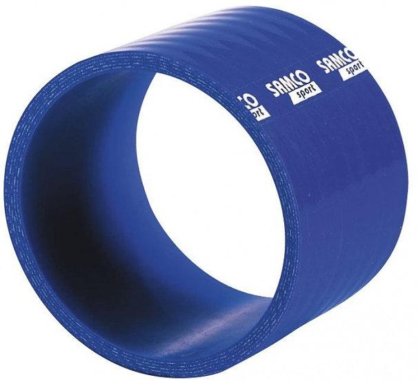 siliconen slang lucht/water Ø110mm 75mm recht blauw