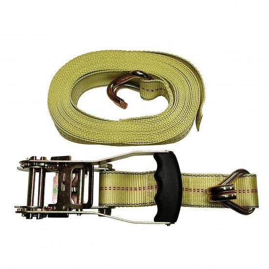 spanband Luxe 50 mm x 8 meter nylon geel