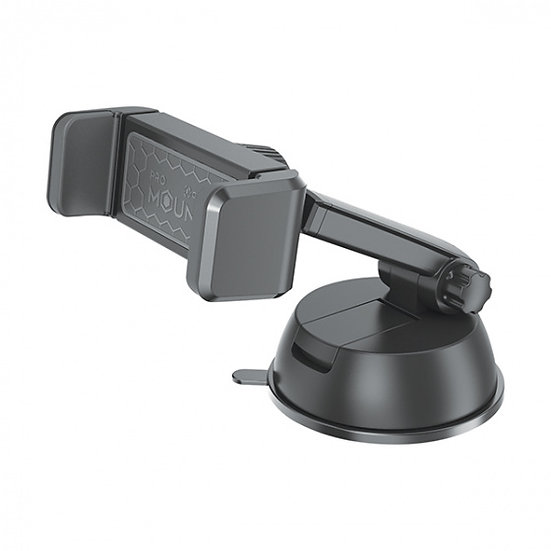 autohouder Airvent 360° zuignap 14 cm zwart