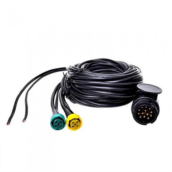 kabelset 5 meter stekker 13-polig/connector 5-polig/DC