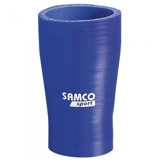 siliconen slang lucht/water Ø38>22mm 102mm recht
