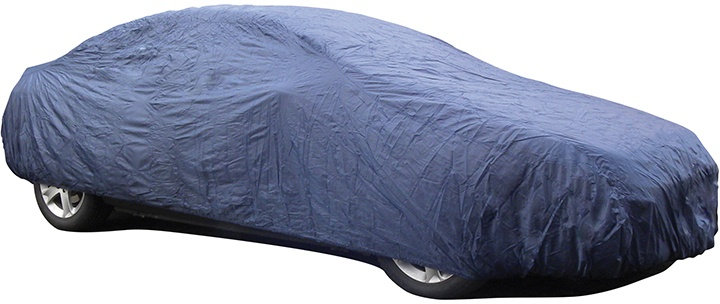 autohoes S 406 x 160 x 119cm polyester blauw