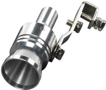 uitlaatfluitje Turbo Ø 37-48 mm chroom