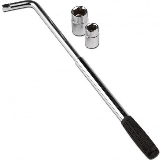 wielsleutel telescopisch 40-55 cm 17-19-21-23 mm staal