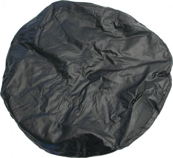 afdekhoes reservewiel 15/16 inch zwart