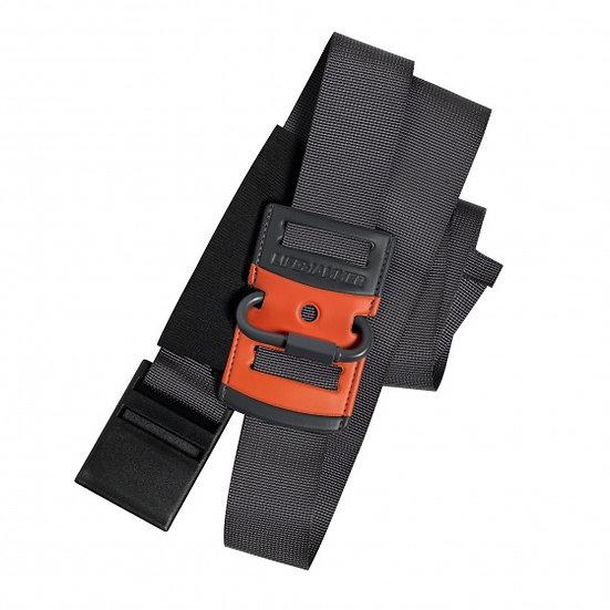 autogordelgeleider 110 mm zwart/rood