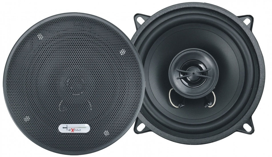 speakerset tweeweg coaxiaal X132 300 Watt zwart