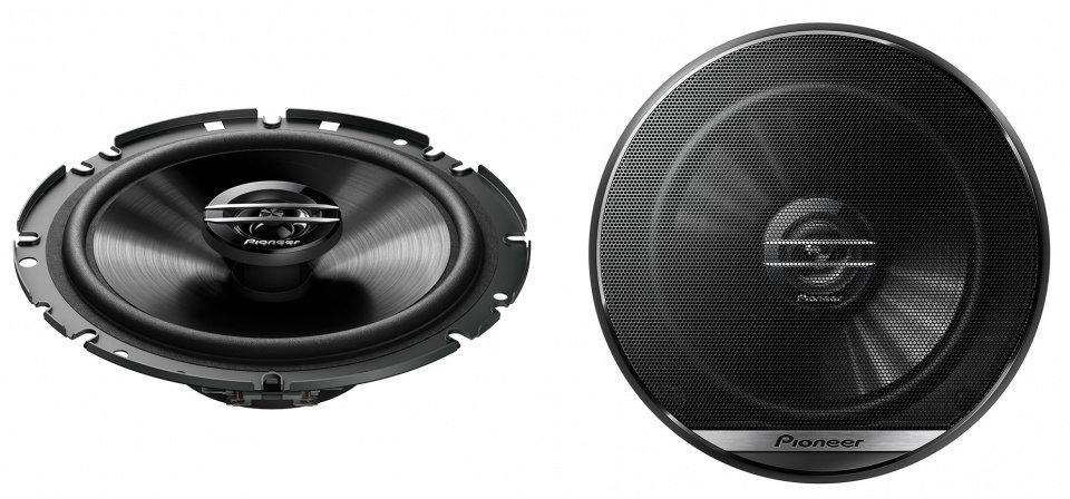 speakerset tweeweg coaxiaal TS-G1720F 300 Watt  zwart