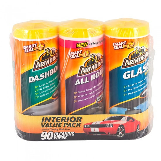 reinigingsdoekjesset Car Triple Pack 3 x 30 stuks