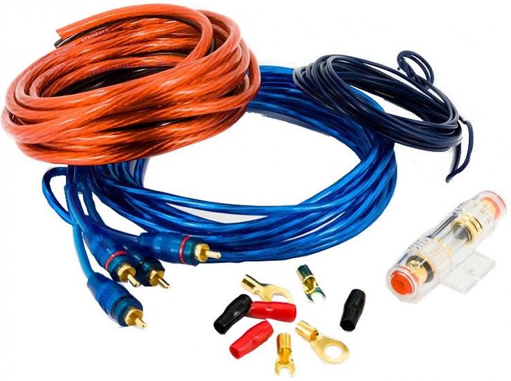 kabelset 750 Watt 8AWG 10-delig