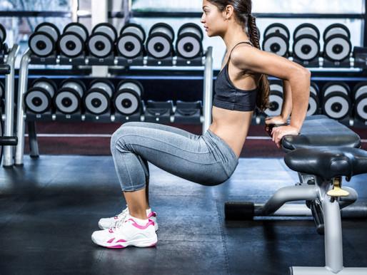 Exercite seu tríceps no banco
