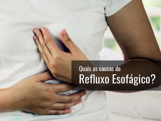 Causas do refluxo gastroesofágico