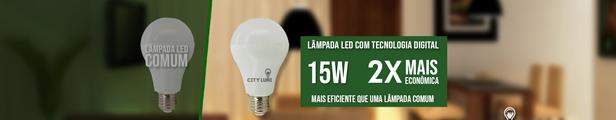 lamp 15w led com tecnologia diferenciada