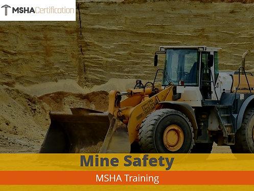 MSHA (Part 48 Surface Miner Refresher)