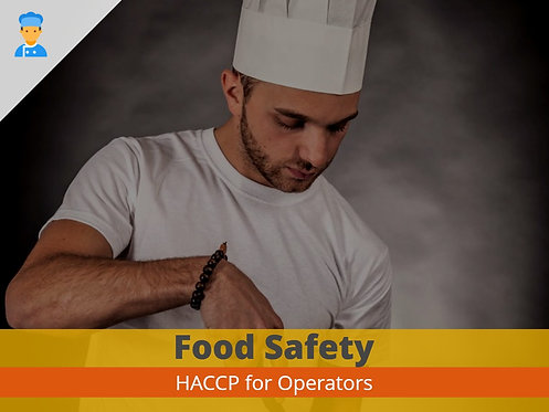 HACCP for Operators Training
