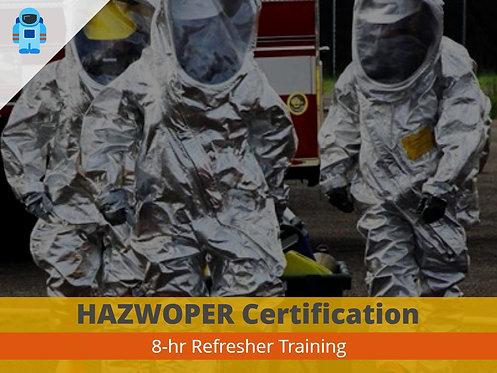 HAZWOPER 8-Hour Refresher Training