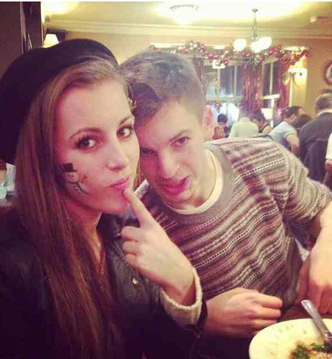 Amber and James xmas meal 13