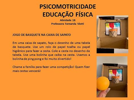 Educação física e psicomotricidade - aul