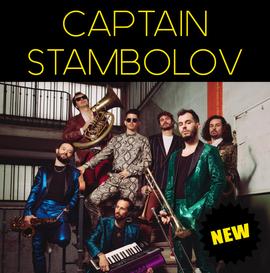CAPTAIN STAMBOLOV ❘ balkanik brass band