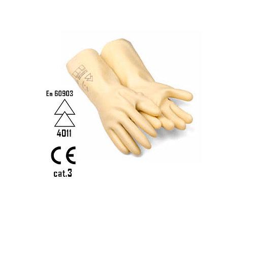 Guante Dieléctrico  caucho natural de 36 cm